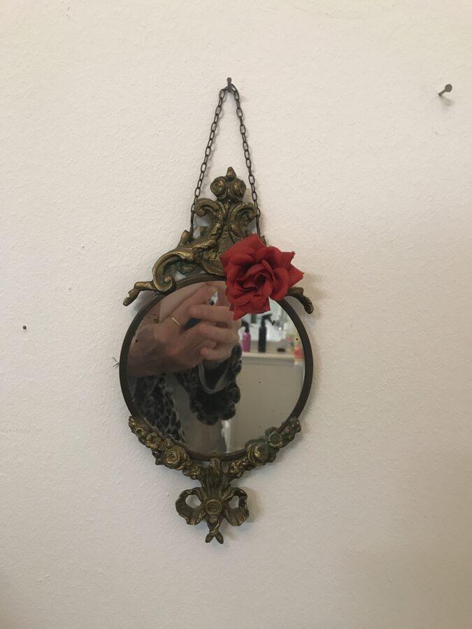 Antiek spiegeltje